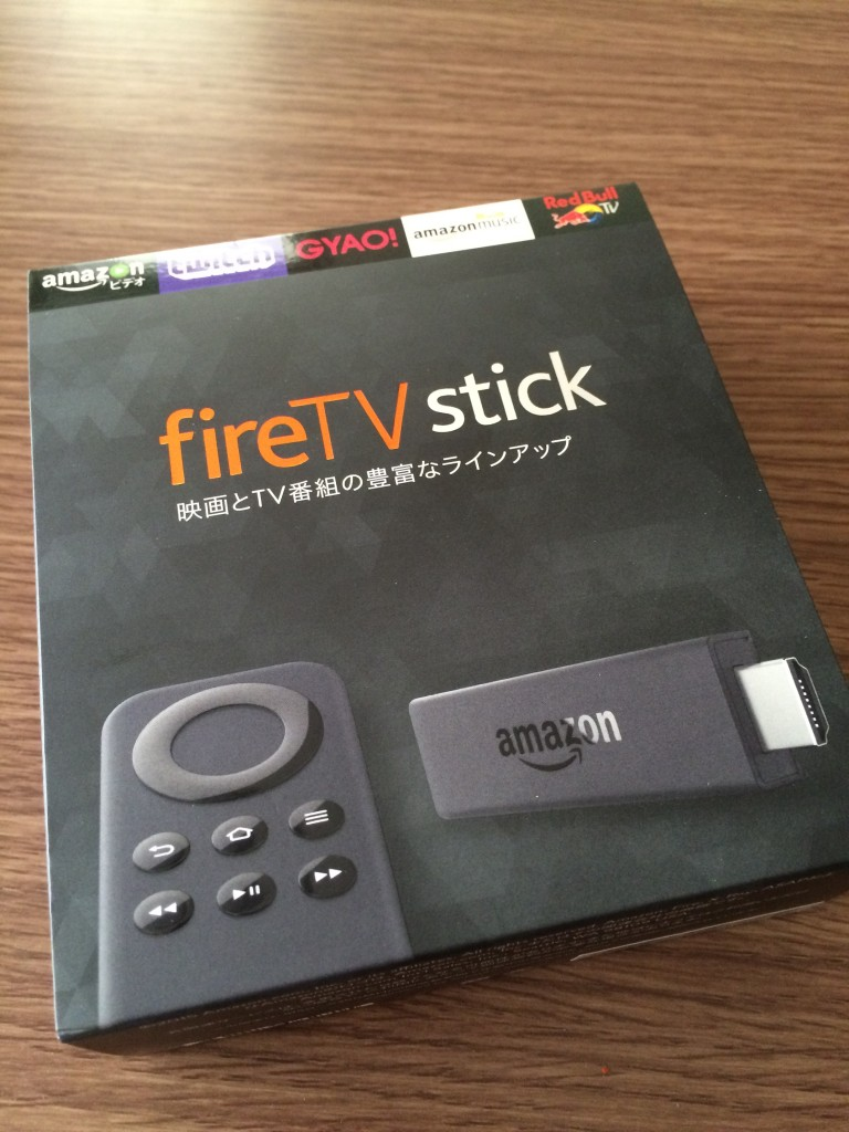 Fire TV Stick Amazon 本体 箱
