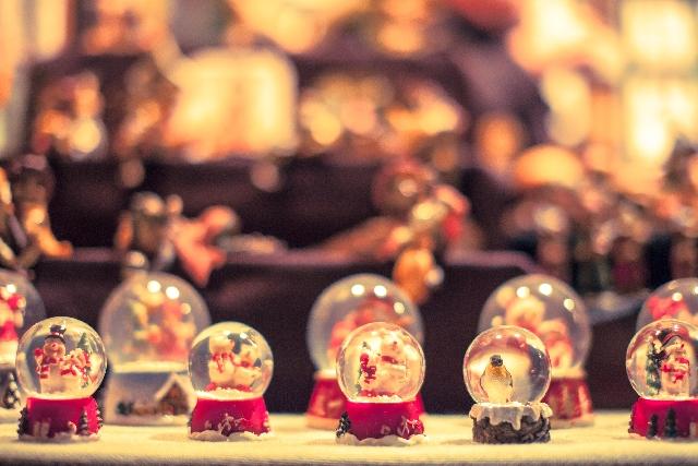 クリスマス ドーム プレゼント