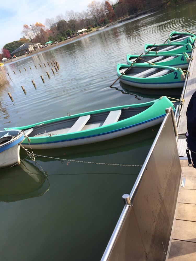 柏の葉公園 ボート