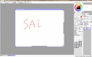SAI 画面