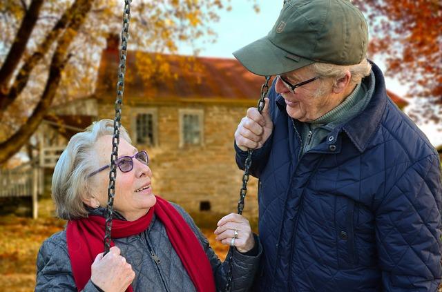 昔 老夫婦 永遠の愛