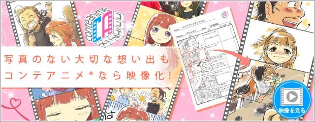 コンテアニメ スライド画像