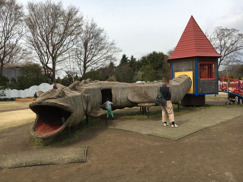 アンデルセン公園 トカゲゾーン