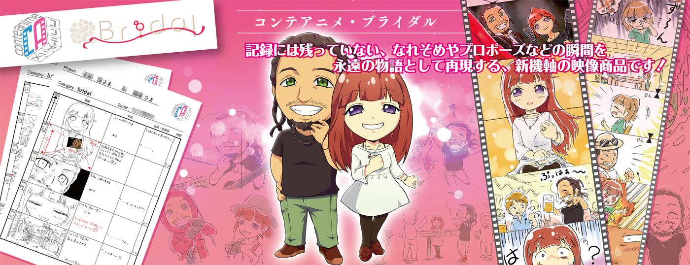 コンテアニメ プロフィールムービー プレミアム