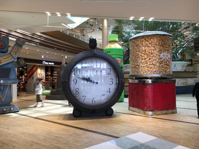 アリオ柏 モニュメント 時計