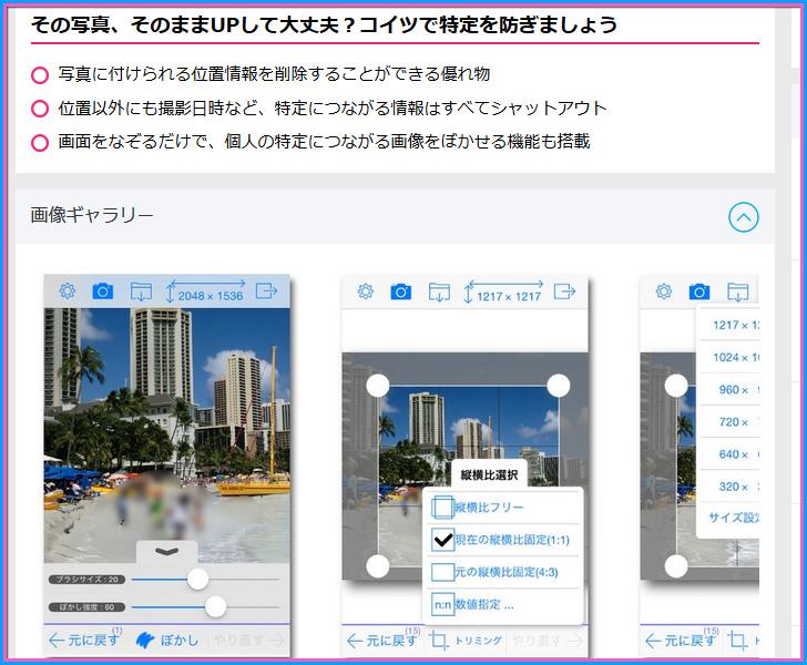 Photo消しゴム 〜 写真ぼかし&プライバシー確認アプリ