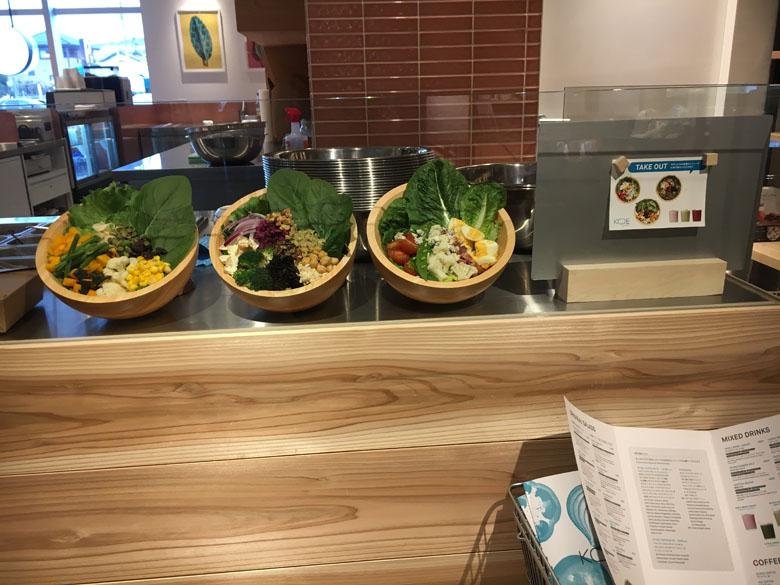 柏の葉T-SITE サラダ
