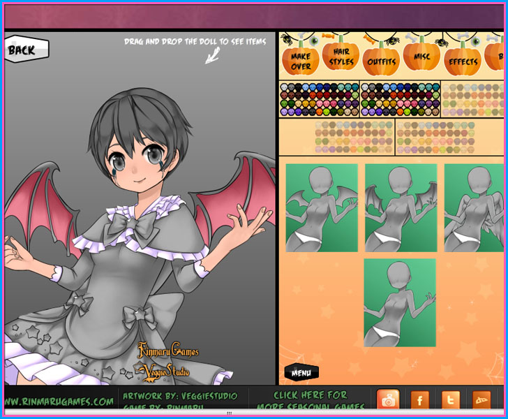 Anime Halloween Magical Girl ~ dress up
