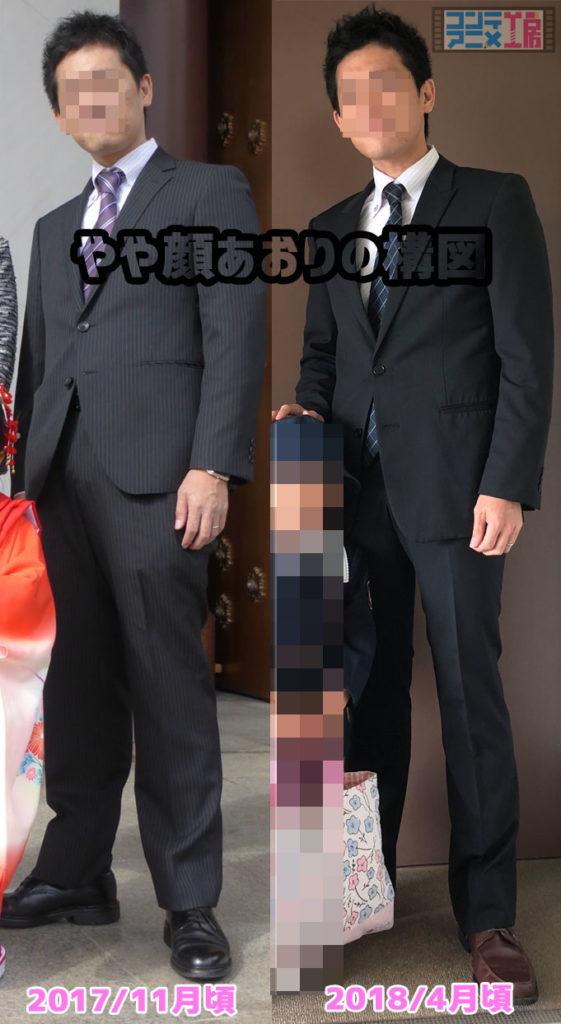 アラフォー ダイエット 男 ビフォーアフター