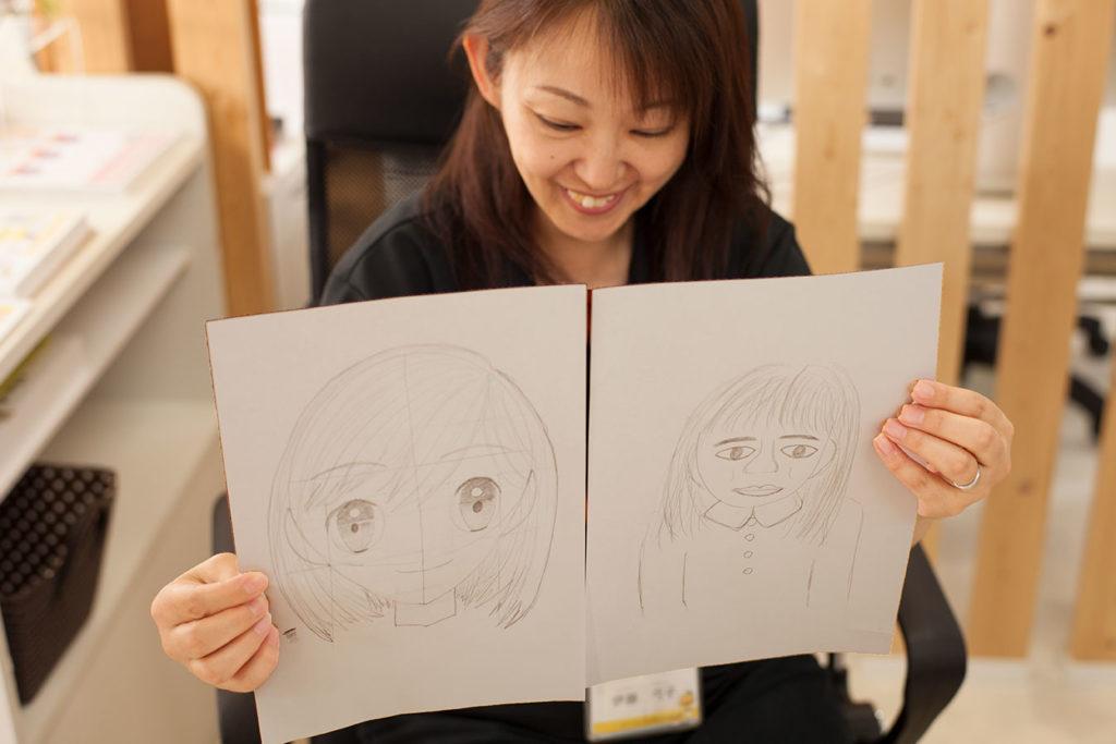 SMILES イラスト・マンガ ビフォーアフター