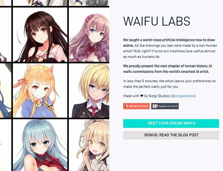「Waifu Labs」